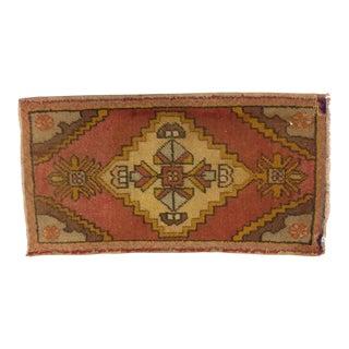 Anatolian Turkish Wool Rug - 1′7″ × 3′1″