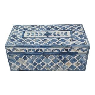 Moroccan Quatrefoil Inlay Box
