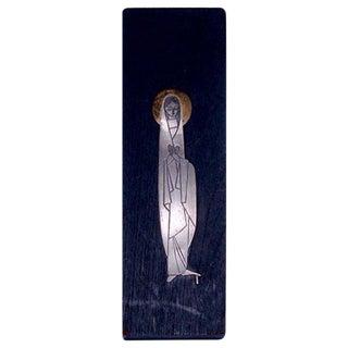 Emaus Virgen Wall Plaque