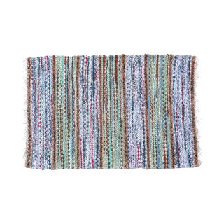 "Swedish Handwoven Rug - 2' 11"" X 1' 11"""