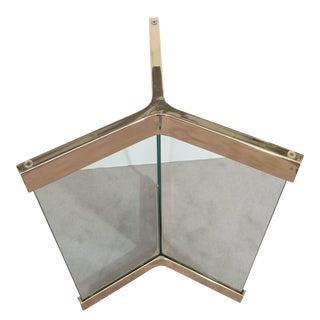 Leon Rosen for Pace Glass & Steel Table Base