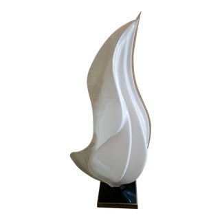 Rougier Lucite Free-Form Table Lamp