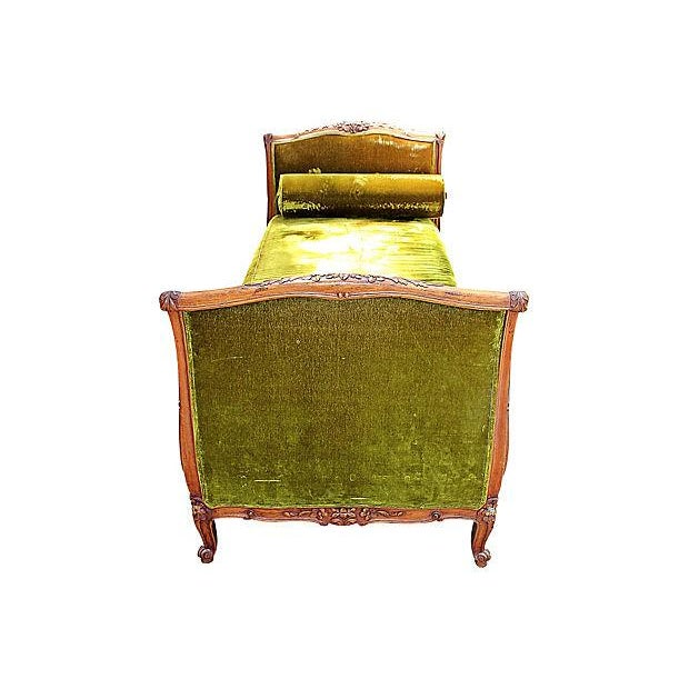 Louis XV-Style French Antique Daybed - Image 3 of 6