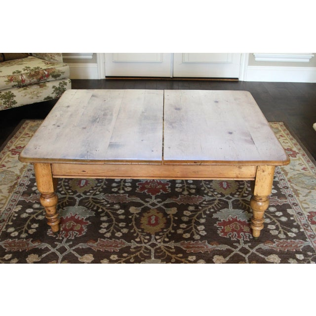 Antique Coffee Tables Ireland: Antique Pine Farmhouse Coffee Table