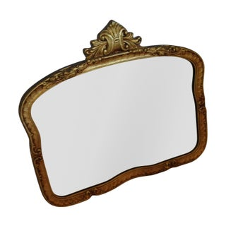 Antique Gilded Wood Mirror