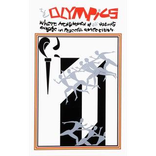 "Romare Bearden ""The Olympics"" Serigraph"