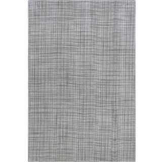 Neutral Gray Rug - 6′8″ × 10′