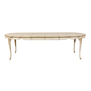 American Louis XV Style Oval Dining Table