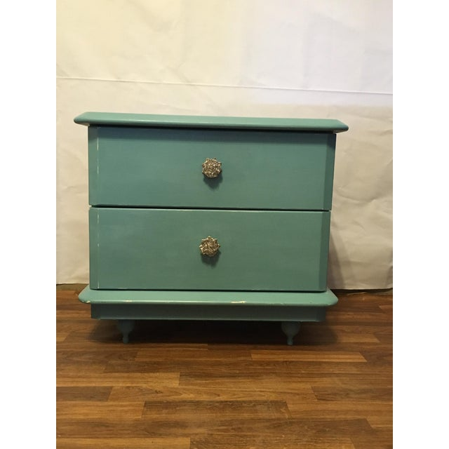 Lane Teal Nightstand - Image 2 of 5