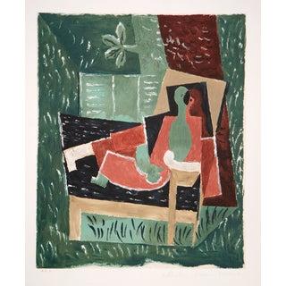 Pablo Picasso Lithograph - Nu Au Bras Leve De Face