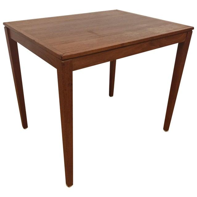 Silberg Mid-Century Danish Teak Side Table - Image 1 of 8