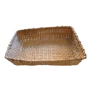 Antique Primitive Tobacco Picking Basket