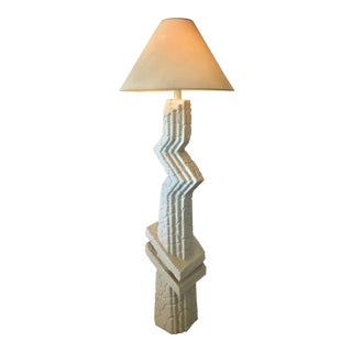 Memphis-Style Sculptural Floor Lamp