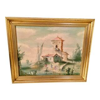Vintage Framed Print of Castel Del Monte, Italy