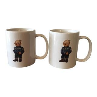 Ralph Lauren Alpine Bear Mugs - A Pair