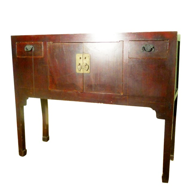 Antique Chinese Ming Buffet Cabinet, 1800-1849 - Image 1 of 10
