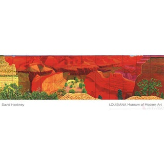 "David Hockney ""A Closer Grand Canyon"" 2011 Poster"