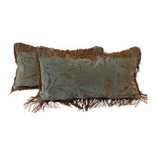 Nomi Brocade Pillows - A Pair
