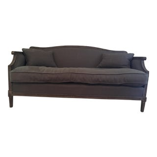 Restoration Hardware Laurent Salon Settee