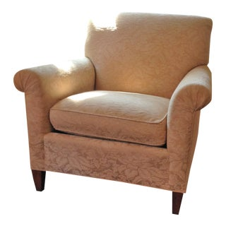 Baker Furniture Reupholstered Club Chair