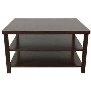 Abai 2-Shelf Wood Cocktail Table
