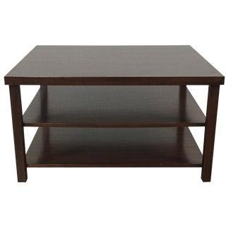 Abai 2-Shelf Wood Cocktail Table