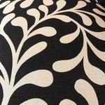 Image of Black & White Botanical Loveseat