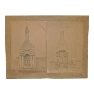 18th/19th Century Master Architectural Drawings