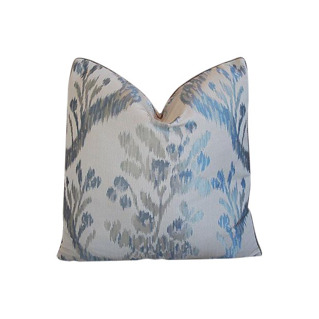 Custom Tailored Old World Weavers Jacquard Silk Feather/Down Pillow - Image 1 of 6