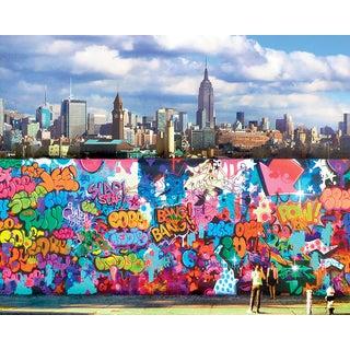 New York Street Graffiti Art Photograph