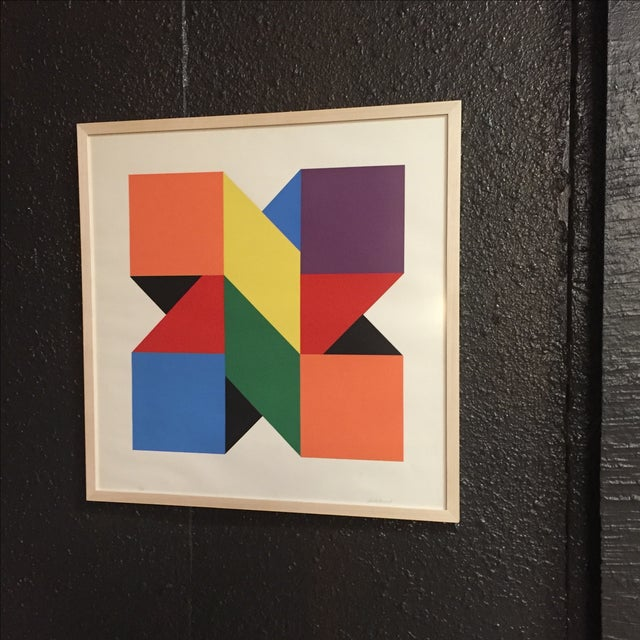 Original Colorful Lithograph, Jules Engel 1960's - Image 2 of 11