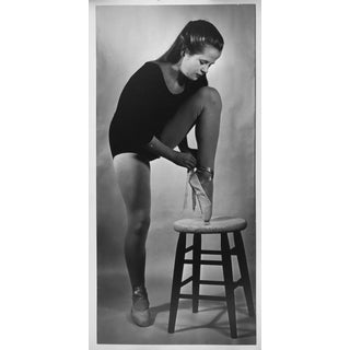 Vintage Photograph Young Ballerina 1961 by McNutt