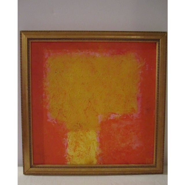 Abstract Painting Paris Signed Framed Acrylic - Image 4 of 11