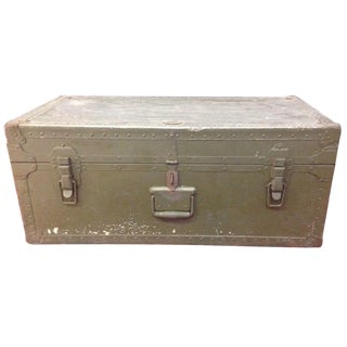WWII Soldiers Trunk