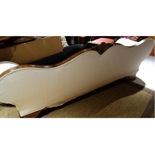 Camel Back Reupholstered Sofa - Image 5 of 6