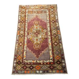 """Bellwether Rugs Lavender Vintage Turkish Oushak Rug - 2'9""""x4'7"""""""