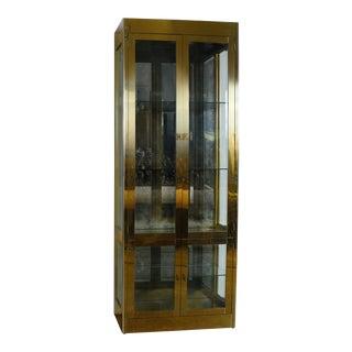 Mastercraft Brass Cabinet