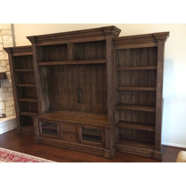 Image of Ethan Allen Traveller Four-Piece Media Center