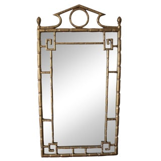 Faux Bamboo Chinoiserie Mirror