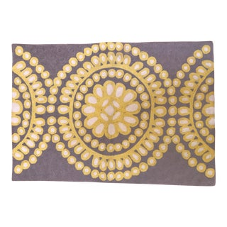 Anthropologie Small Wool Area Rug - 2′ × 3′