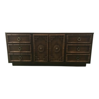 Chinoiserie Faux-Bamboo Dresser