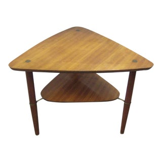 Kresten Buch Danish Modern Guitar Pick Side Table