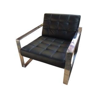 Black Savina Lounge Chair