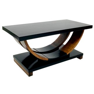 Brown Saltman Deco Coffee Table