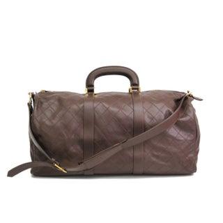 Chanel Calf Skin Boston Bag