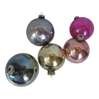 Christmas Ornaments Shiny Brite - S/5