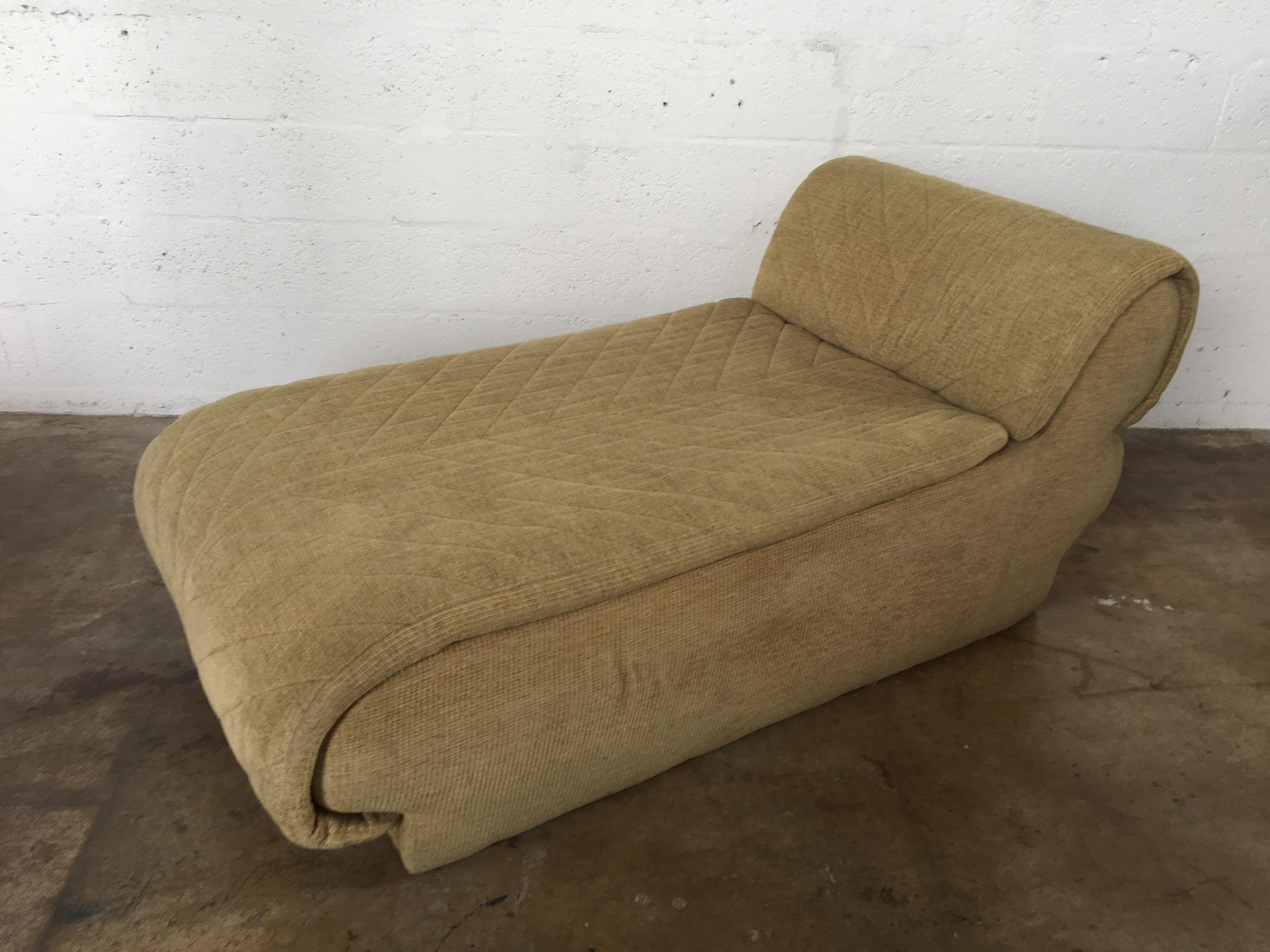 Vintage Vladimir Kagan for Preview Furniture Chaise Lounge - Image 2 of 9  sc 1 st  Chairish : chaise lounge vintage - Sectionals, Sofas & Couches