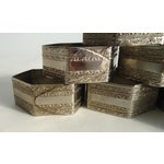 Image of Vintage Silverplate Napkin Rings - Set of 8