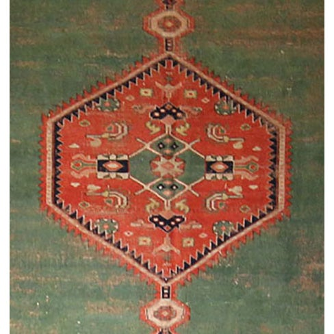 Turkish Rug With Bidjar Design - 6′7″ × 8′10″ - Image 2 of 2