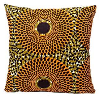 Summer Harvest African Wax Print Pillows- Pair